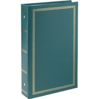 """Pioneer STC46 Classic 3 Ring Photo Album with Solid Color Covers & Gold Trim, Holds 300 4"""" x 6"""" Photos, 3 Per Page - Colors May Vary"""