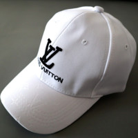 Louis Vuitton LV  Women Men Sport Sunhat Embroidery Baseball Cap Hat
