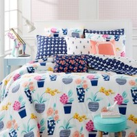 Whim by Martha Stewart Collection Pretty In Pots 5-Pc. Comforter Sets | macys.com
