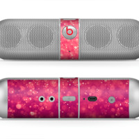 The Unfocused Pink Glimmer Skin for the Beats by Dre Pill Bluetooth Speaker