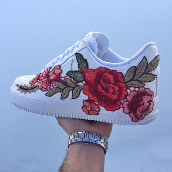 Custom Nike Air Force 1 Low | Winter Rose