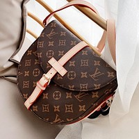 Hipgirls Louis Vuitton LV High Quality Women Shopping Bag Leather Shoulder Bag Crossbody Satchel