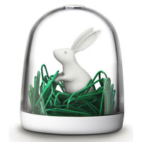 Bunny in Field Paper Clip Holder - See Jane Work