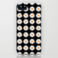 Daisy Pattern iPhone & iPod Case by Kate
