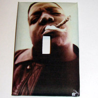 Light Switch Cover - Light Switch Plate Notorious B.I.G.