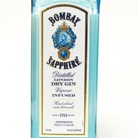 (1) Bombay Tall 24 oz Candle With Wick - Bottle Heaven