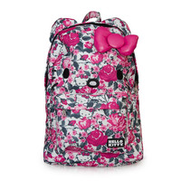 Hello Kitty Floral Print with Bow Backpack