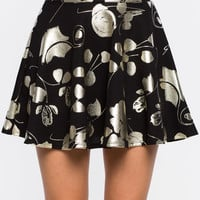 Midnight Party Flare Skirt