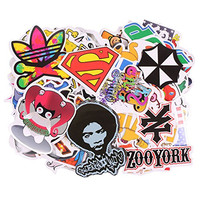 Teenitor 150pcs High Quality Car Motorcycle Bicycle Skateboard Laptop Luggage Vinyl Sticker Graffiti Laptop Luggage Decals Bumper Stickers, 150 Pieces