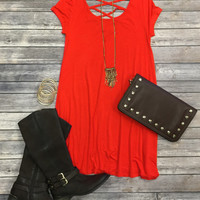 Endless Style Dress SS: Red