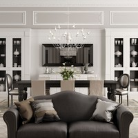 Wooden boiserie English Mood Collection by Minacciolo