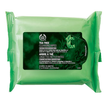 Tea Tree Cleansing Wipes | The Body Shop ®
