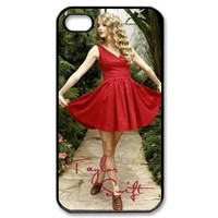 Taylor Swift Hard Plastic Back Protection Cover for Iphone 4, 4S