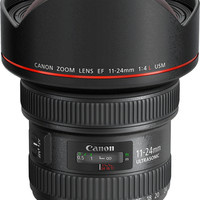 Canon - EF 11-24mm f/4L USM Wide Angle Zoom Lens - Black