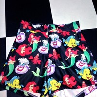 SWEET LORD O'MIGHTY! MY LIL MERMAID BOOTY SHORTS
