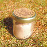 Pink clay mask, Chamomile Willow Rose Face Mask Concentrate - organic and homegrown ingredients