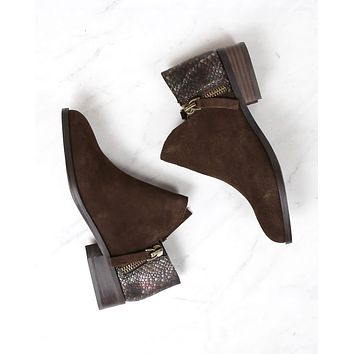 Very Volatile - Women's Greyson Ankle Bootie - Brown