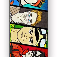 5SOS Superheroes for iPhone 4/4S Case **