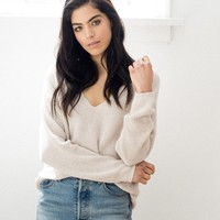 Tucker Knit Sweater