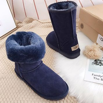 U UGG popular seller of casual men's and women's suede mid-range boots