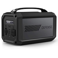 X-Doria Defense Titan Portable Power Station, 224Wh Rechargeable Battery Generator and Backup Power Source for Outdoors, Camping, Festivals, Travel and Emergencies