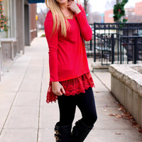 For the Love of Lace Tunic