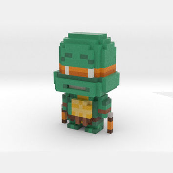 """""""Mikey"""" Voxel Figurine"""