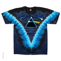 Pink Floyd - Dark Side Tie Dye T Shirt on Sale for $23.95 at HippieShop.com