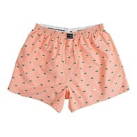 Hanover Oxford Boxers in Melon by Southern Marsh