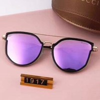 Gucci Women Fashion Popular Summer Sun Shades Eyeglasses Glasses Sunglasses