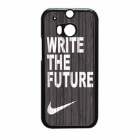 Nike Future On Wood Gray HTC One M8 Case