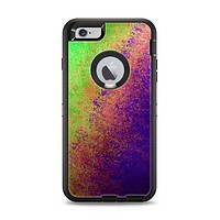 The Vivid Neon Colored Texture Apple iPhone 6 Plus Otterbox Defender Case Skin Set
