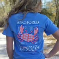 Southern Darlin' Collection: Anchored In The South Tee