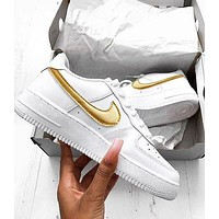 NIKE AIR force 1 AF1 men's and women's casual sneakers Shoes