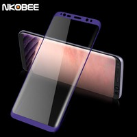 NKOBEE For Samsung Galaxy S8 Tempered Glass For S8 for Samsung Galaxy S8 Plus Screen Protector Film 3D Full Cover S 8 Protection