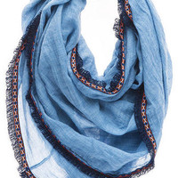 TIRANA CHAMBRAY LOOP SCARF