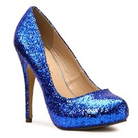 Michael Antonio Love Me Glitter Pump