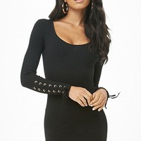 Ribbed Mini Dress
