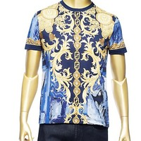 Versace - Barocco Camouflage T-Shirt