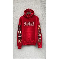 """MONTANA"" Hoodie in Red"