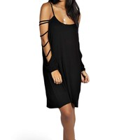 Kendall Cage Sleeve Detail Dress