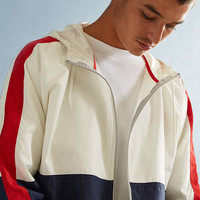 UO '90s Colorblocked Windbreaker Jacket | Urban Outfitters