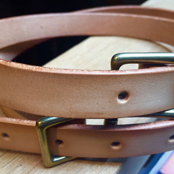 DTB Utility - Leather Utility Strap, steampunk utility belt, military utility belt, leather strap, larp