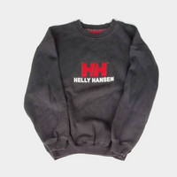Helly Hansen Size Large Sweatshirt, 90s Helly Pullover
