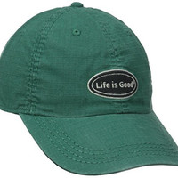 Life is good Ripstop Chill Cap (Hunter Green), One Size