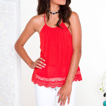 Give It To Me Lace Top