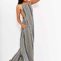Band Of Gypsies Boho-Print Maxi Slip