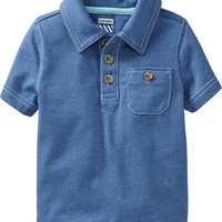 Jersey Polos for Baby