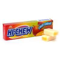 Hi-Chew Fruit Chews 10-Piece Candy Packs - Mango: 10-Piece Box