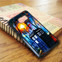 Doctor Who Painting Art Samsung Galaxy S6 Edge Case